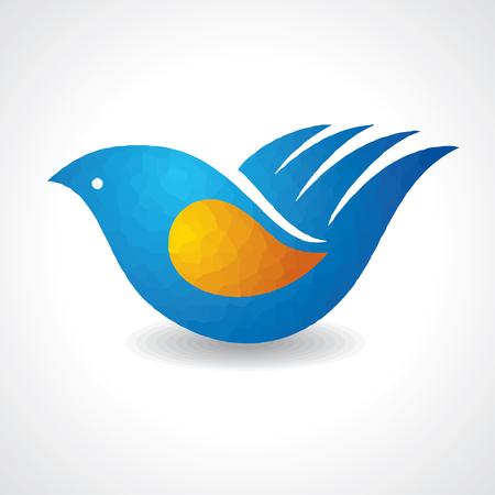multinational: Creative idea - hand make a bird