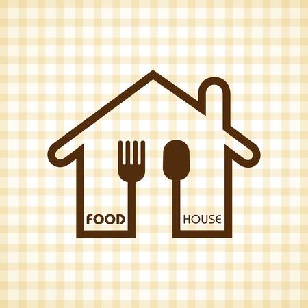 main course: Template for restaurant menu stock vector