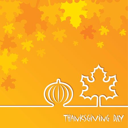 pocahontas: Creative Thanksgiving Day Background stock vector