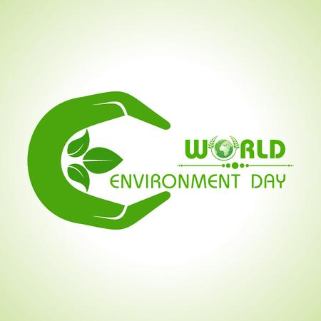 世界环境日问候设计