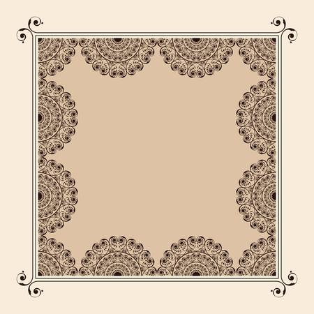 envelope: Wedding Invitation Card design stock vector