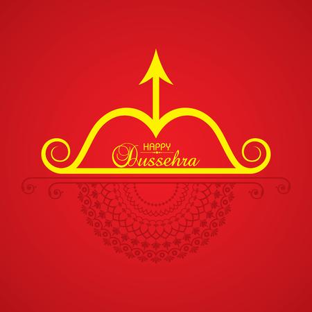 dashamukha: dussehra festival greeting or poster design stock.