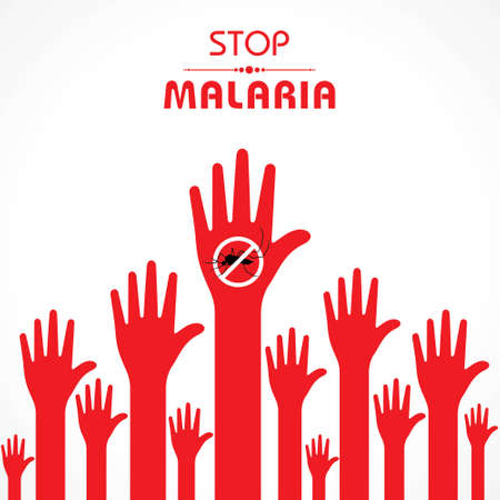 World Malaria Day Vector Illustration. Suitable for greeting card, poster and banner.