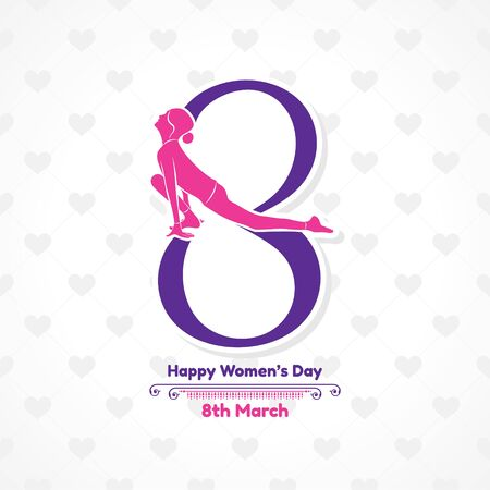 Illustration for International Womens day- 8 March