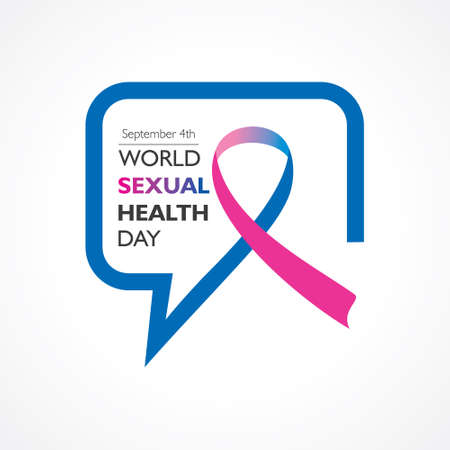 Vector Illustration of World Sexual Health Day Concept which is held on September 4th Vector Illustration