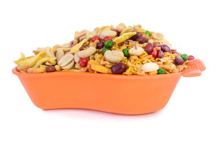 sev: This all-time favorite snack for all families, Mix nimko is an essential snack enhancing the enjoyment and fun associated with family time. Prepared with our fine ingredients and carefully measured spices, this delicious and lip-smacking snack will make y