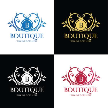 Boutique logo. Fashion Brand Icon. Vector illustration