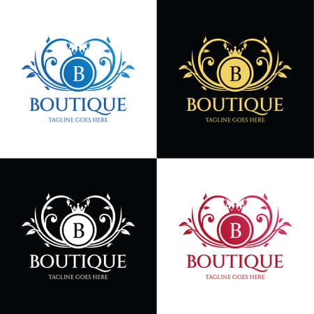 Boutique logo. Fashion Brand Icon. Vector illustration 向量圖像