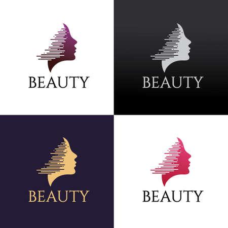 Beauty salon design template. Vector illustration 矢量图像