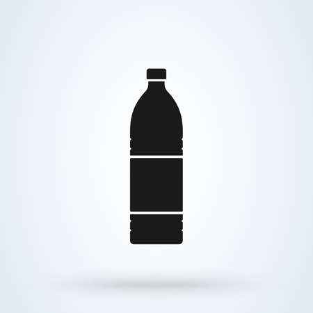 bottle Simple symbol. flat style. Vector illustration icon isolated on white background 矢量图像