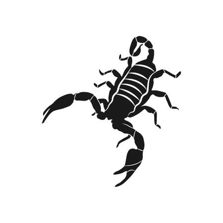 scorpion icon illustration isolated vector sign symbol Illustration