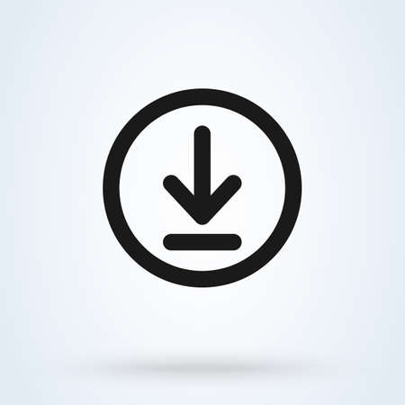 Download and install Simple vector modern icon design illustration.
