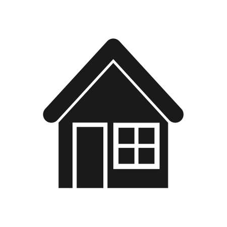 house and home, Simple vector modern icon design illustration. 일러스트