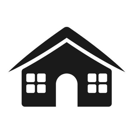 house and home, Simple vector modern icon design illustration.