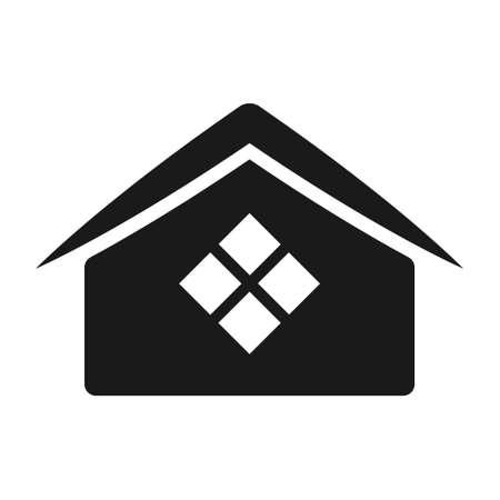 house and home, Simple vector modern icon design illustration. 스톡 콘텐츠 - 135406661