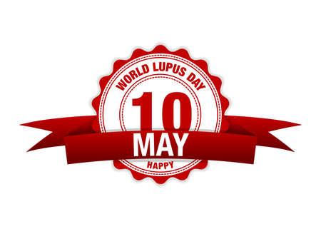 World Lupus Day 10th May. modern design illustration.