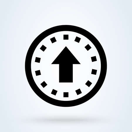 Buy Upgrade Ecommerce. Simple vector modern icon design illustration. Imagens - 138357189
