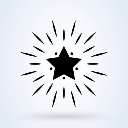 Excellent quality star. Simple vector modern icon design illustration. 스톡 콘텐츠 - 138357199