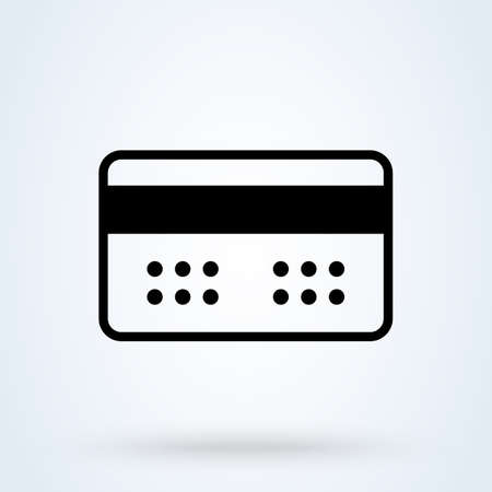 Token Card Code. Simple vector modern icon design illustration. Imagens - 137731462
