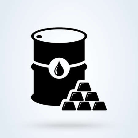 Commodity Simple vector modern icon design illustration. 스톡 콘텐츠 - 138526401