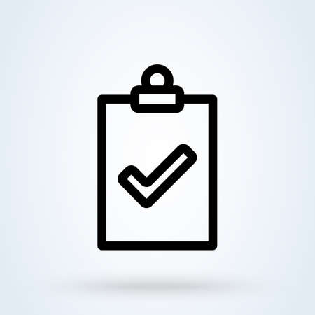 Inspection line Simple vector modern icon design illustration. 스톡 콘텐츠 - 137917167
