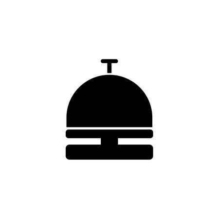 Hotel bell icon. vector Simple modern icon design illustration. Vecteurs