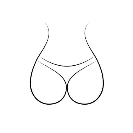 ass. vector Simple modern icon design illustration. Vectores