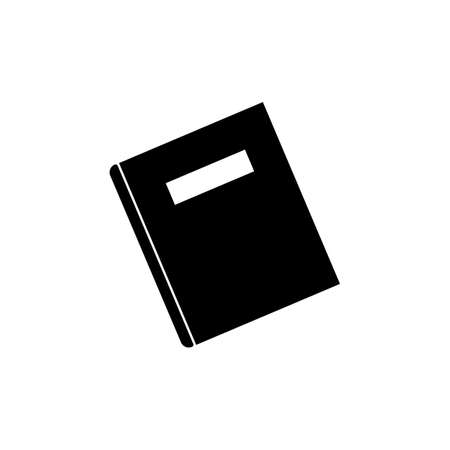 notebook. vector Simple modern icon design illustration. Ilustração