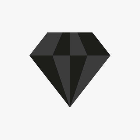Diamond icon for luxury, royal concept design. Usage for premium sign in apps and games UI.