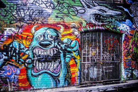 grundge: street art