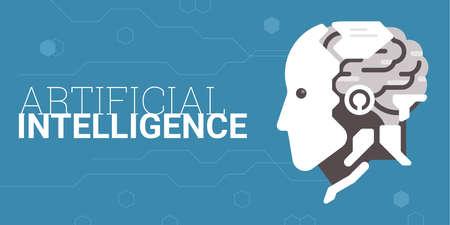 Artificial intelligence concept Illustration