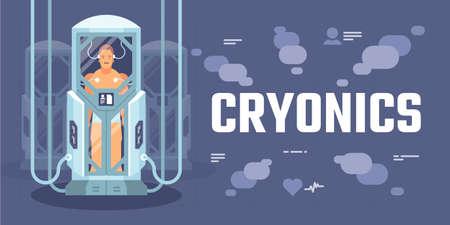 Cryonics Фото со стока - 95194735