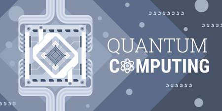 Quantum computing Фото со стока