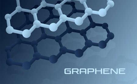 Graphen-Atomstruktur