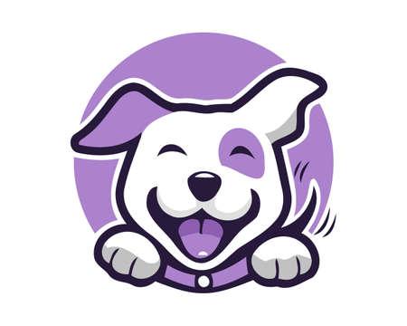 Dog logo design vector file | Dog illustration fully editable file