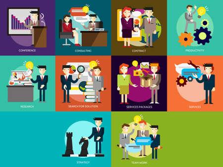 reunion de trabajo: Personas de Negocios