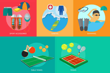Sport and Awards Ilustrace