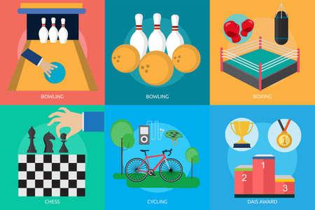 dais: Sport and Awards Illustration