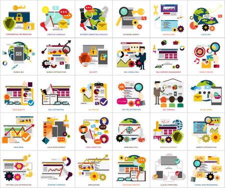 SEO and Development Illustration