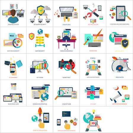 icons site search: Web and Development