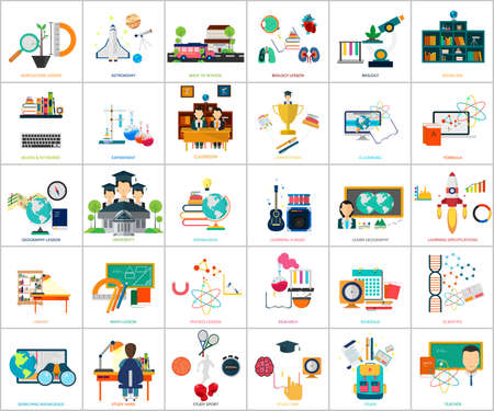physics background: Education and Science Illustration