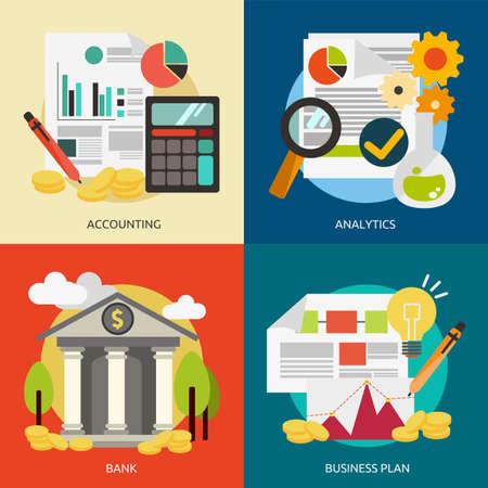 Business and Marketing Illusztráció