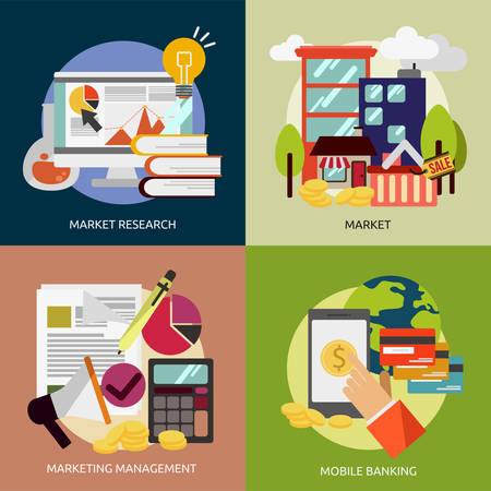 entrepreneur: Business and Marketing Illustration