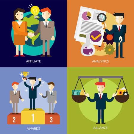 office team: Business People