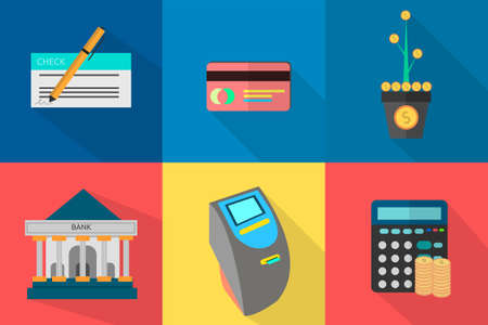check icon: Finance and Banking