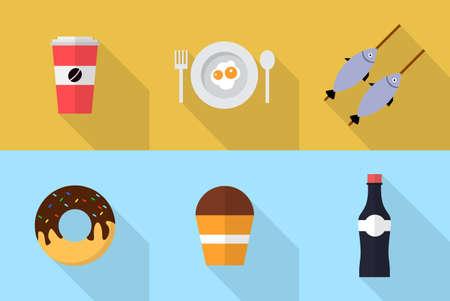 Essen und Trinken Standard-Bild - 48231912
