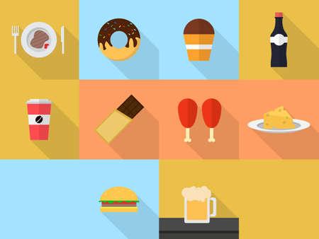 Essen und Trinken Standard-Bild - 48231938