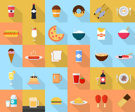 Food and Drink Stock Vector - 48231939