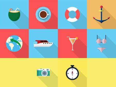 Vakantie en Recreations Stock Illustratie