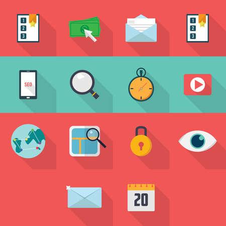 keywords link: SEO Icons